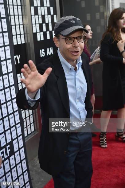 Rick Moranis attends In Of Itself Opening Night Arrivals at Daryl Roth Theatre on April 12 2017 in New York City