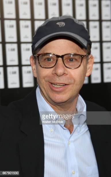 Rick Moranis attends the opening night of 'In Of Itself' at the Daryl Roth Theatre on April 12 2017 in New York City