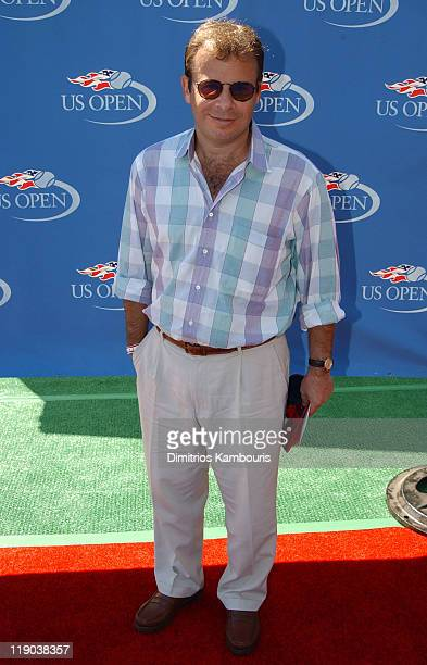 Rick Moranis during Official US Open celebrity Men's singles finals Buzz party hosted by the USTA at USTA National Tennis Center in Flushing Meadow...