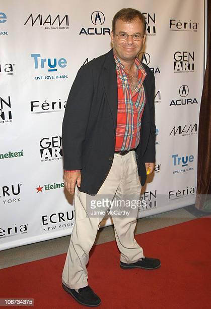 Rick Moranis during Olympus Fashion Week Spring 2005 The 10th Anniversary Gen Art Loreal Feria Fresh Faces In Fashion Show Arrivals at Grand Ballroom...