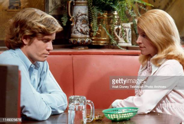 Rick Moses, Julie Sommars appearing in the ABC tv series 'Owen Marshall, Counselor at Law' episode 'Victim in Shadow'.