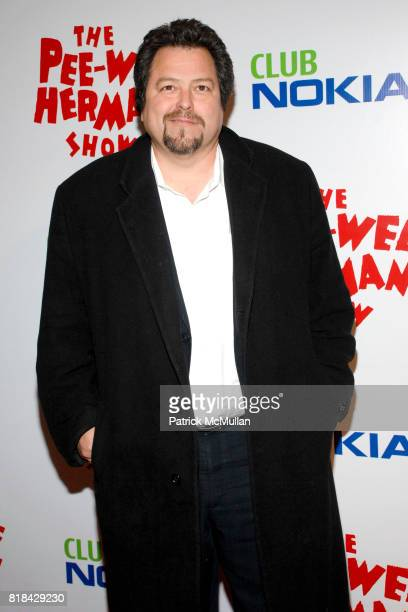 Rick Najera attends The Pee Wee Herman Show Opening Night at Club Nokia on January 20 2010 in Los Angeles California