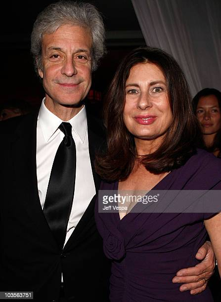 Rick Nicita and producer Paula Wagner attends The Art of Elysium 2nd Annual Heaven Gala held at Vibiana on January 10, 2009 in Los Angeles,...