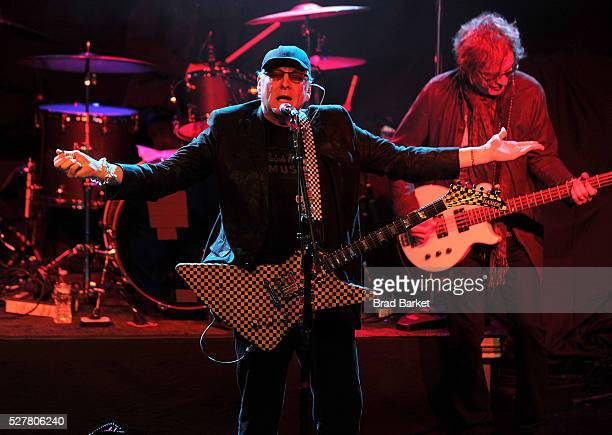 Rick Nielsen of the music group Cheap Trick performs at the 2nd Annual National Concert Day Show at Irving Plaza on May 3 2016 in New York City