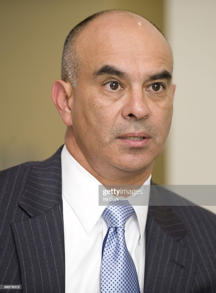 Rick Noriega, Democratic candidate for U.S. Senate from Texas, speaks to Roll Call on Wednesday, July 9, 2008