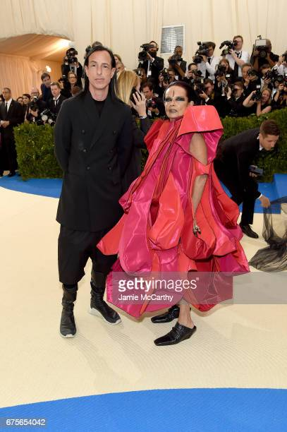 Rick Owens and Michelle Llamy attend the 'Rei Kawakubo/Comme des Garcons Art Of The InBetween' Costume Institute Gala at Metropolitan Museum of Art...