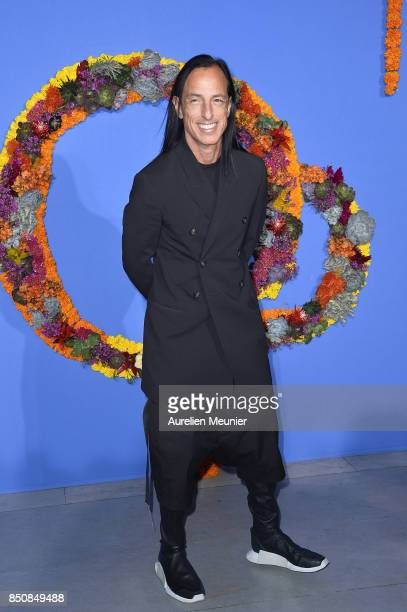 Rick Owens attends the opening season gala at Opera Garnier on September 21 2017 in Paris France