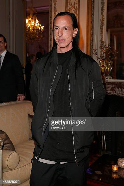 Rick Owens attends the T The New York Times Style Magazine Party as part of the Paris Fashion Week Womenswear Fall/Winter 2015/2016 on March 7 2015...
