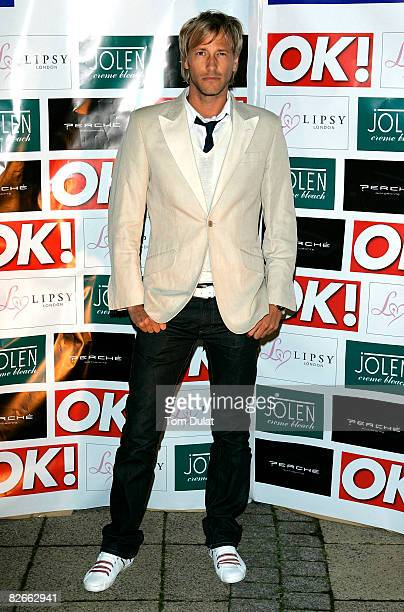 Rick Parfitt Jnr attends ITV At The Movies Launch Party held at Perche Restaurant on September 4 2008 in London England
