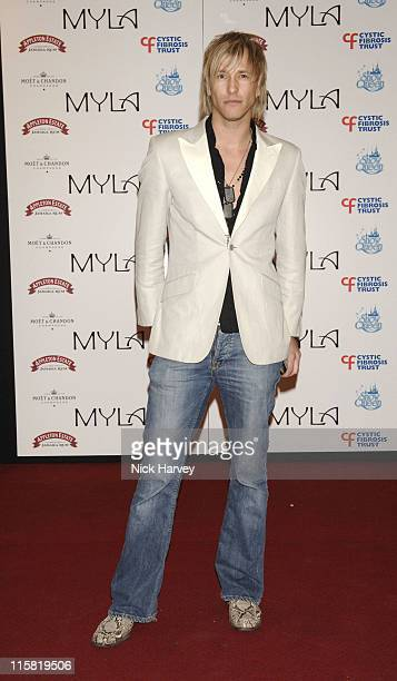 Rick Parfitt Jr attends 'MYLA Lingere Coming Out Party'
