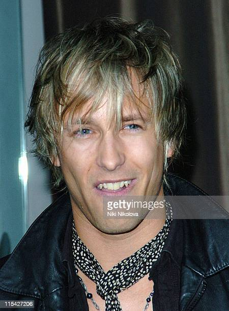 Rick Parfitt Jr during Rebecca Loos Hosts 2006 PreMarathon Fundraising Party at Volt Lounge in London Great Britain