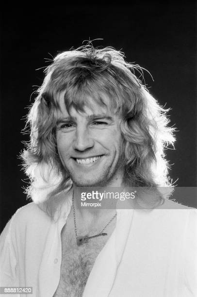 Rick Parfitt rhythm guitarist singer and songwriter in the rock band Status Quo 27th April 1979