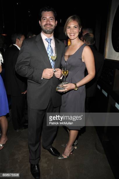Rick Pitcher and Sophie Leibowitz attend HAKKASAN Opening at Fontainebleau Hotel on April 19 2009 in Miami Beach FL