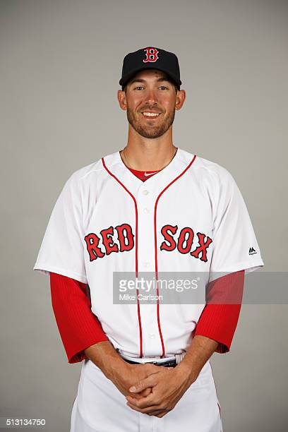 Rick Porcello of the Boston Red Sox poses during Photo Day on Sunday February 28 2016 at JetBlue Park in Fort Myers Florida