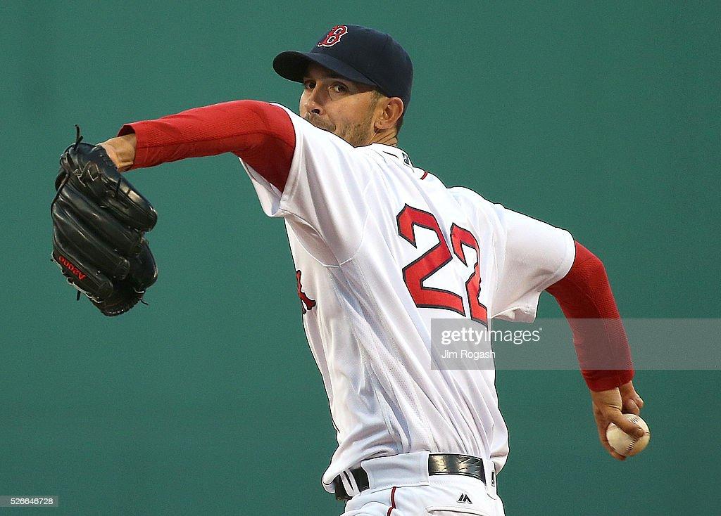 New York Yankees v Boston Red Sox : Foto jornalística
