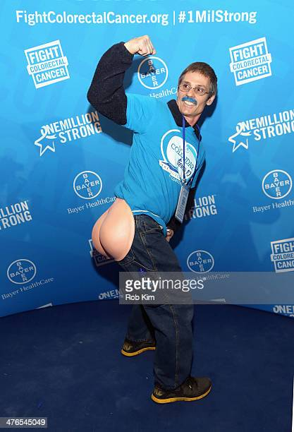 Rick Rausch attends One Million StrongColorectal Cancer Awareness at Grand Central Terminal on March 3 2014 in New York City