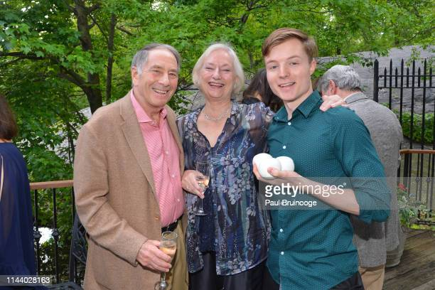 Rick Reiss Lena Kaplan and Tommy Wilkins attend Urban Stages' 2019 Annual Benefit at Loeb Central Park Boathouse NYC on May 15 2019 in New York City