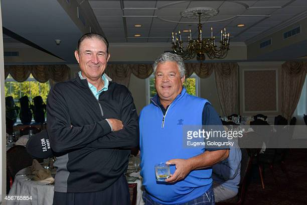 Rick Rhoden and Rick Cerone attend Players Against Concussions at Pelham Country Club on October 6 2014 in Pelham Manor New York