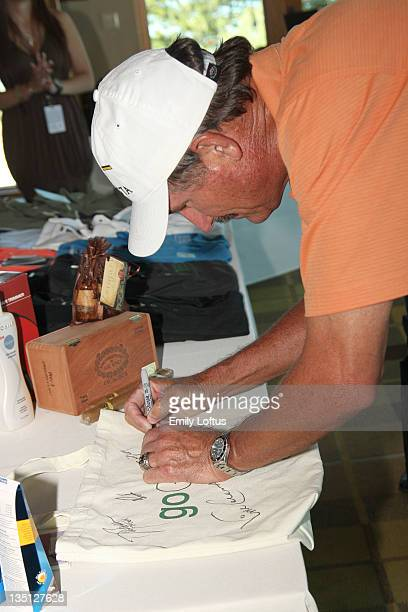 Rick Rhoden attends Backstage Creations at the American Century Golf Tournament on July 15 2009 in Stateline Nevada
