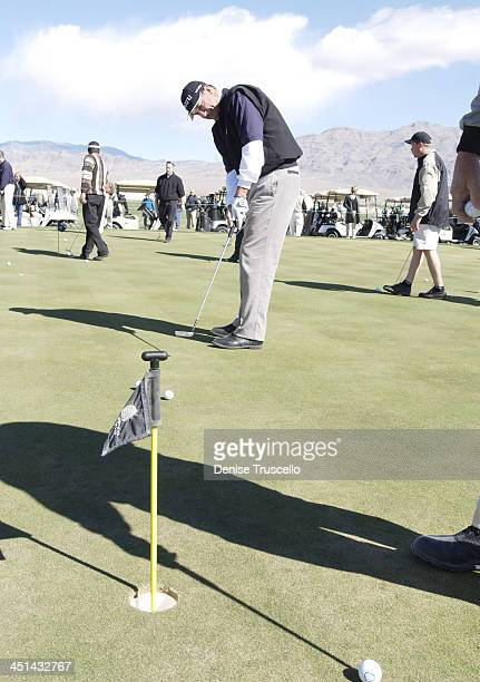 Rick Rhoden during Las Vegas Celebrity Golf Classic Pro AM at Silverstone Golf Course in Las Vegas Nevada United States