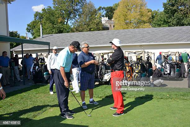 Rick Rhoden Jim McMahon and Rick Cerone attend Players Against Concussions at Pelham Country Club on October 6 2014 in Pelham Manor New York