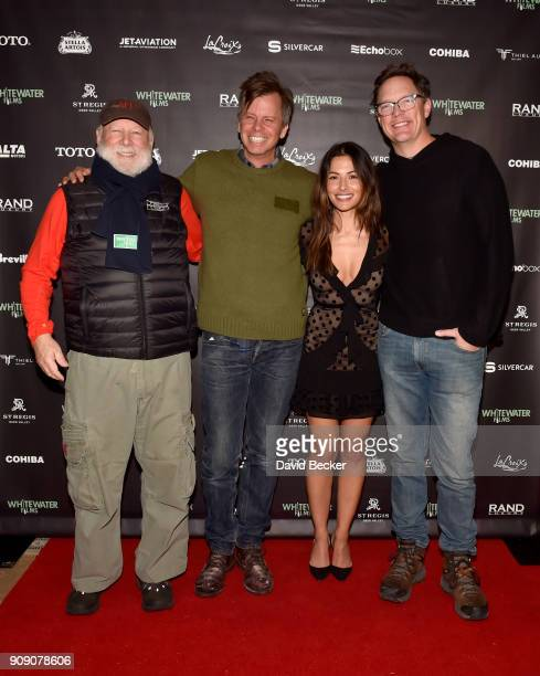 Rick Rosenthal Nick Morton Sarah Shahi and Matthew Lillard attend the Whitewater Films Reception At The RAND Luxury Escape 2018 Park City at The St...