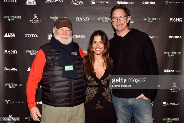 Rick Rosenthal Sarah Shahi and Matthew Lillard attend the Whitewater Films Reception At The RAND Luxury Escape 2018 Park City at The St Regis Deer...