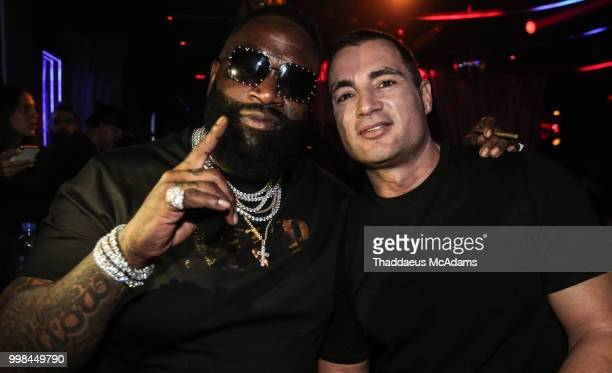 Rick Ross and Chris Paciello at Rockwell Miami on July 13 2018 in Miami Beach Florida