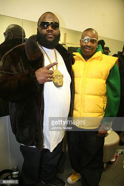 World's Best Rick Ross 2008 Stock Pictures, Photos, and