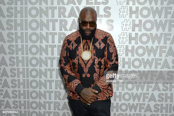 Rick Ross attends Lexus Lounge At MADE at Milk Studios on September 11 2016 in New York City