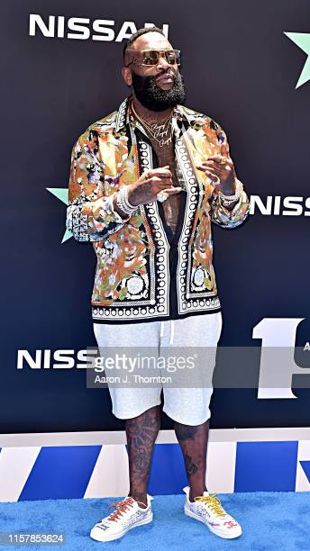 Rick Ross attends the 2019 BET Awards at Microsoft Theater on June 23 2019 in Los Angeles California
