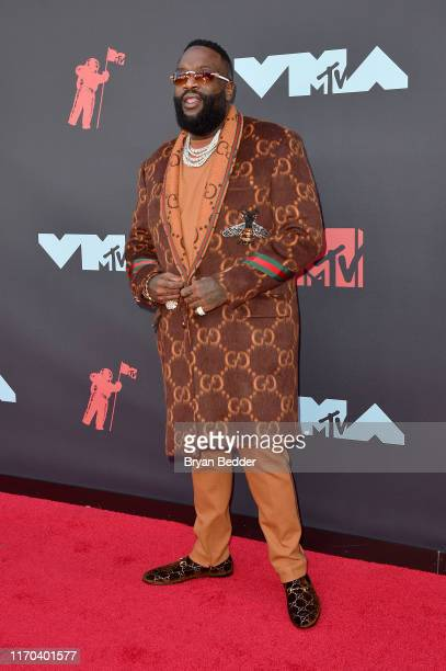 Rick Ross attends the 2019 MTV Video Music Awards at Prudential Center on August 26, 2019 in Newark, New Jersey.