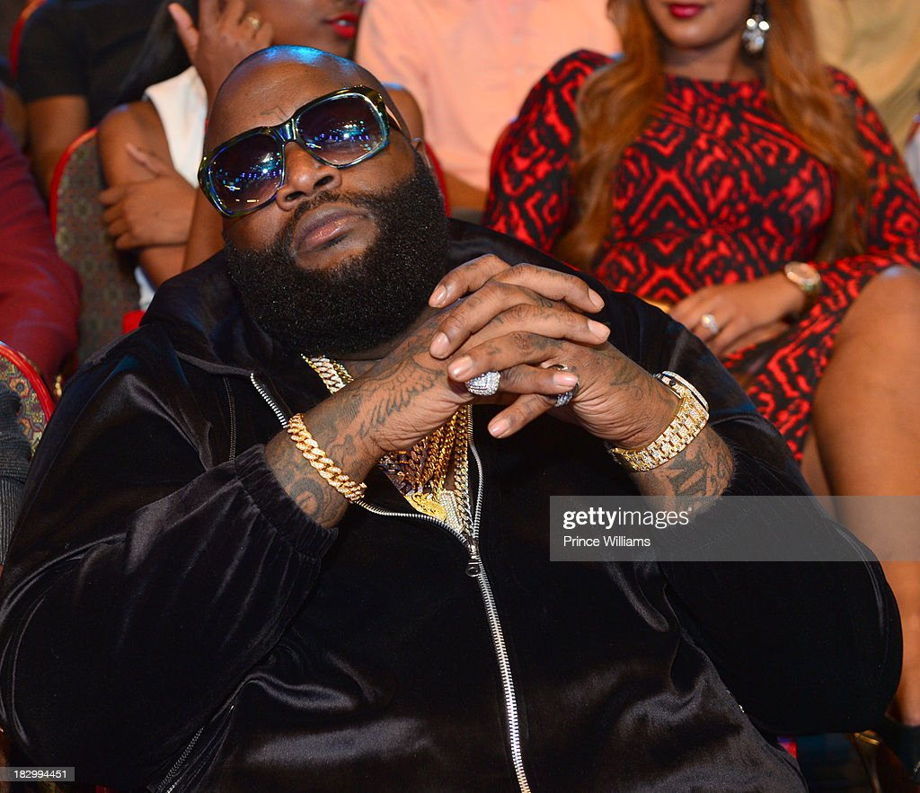 Rick Ross attends the BET Hip Hop Awards 2013 at the Boisfeuillet Jones Atlanta Civic Center on September 28, 2013 in Atlanta, Georgia.