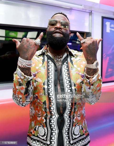 Rick Ross attends the InstaCarpet during the BET Awards 2019 at Microsoft Theater on June 23, 2019 in Los Angeles, California.