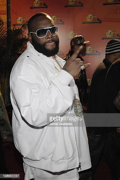 Rick Ross during 2006 BET Hip-Hop Awards - Black Carpet at Fox Theatre in Atlanta, Georgia, United States.
