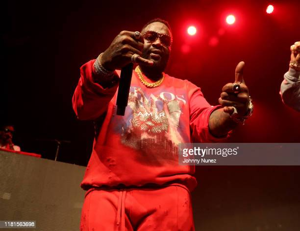 Rick Ross In Concert at Gramercy Theatre on October 16, 2019 in New York City.