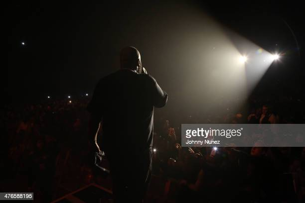 Rick Ross performs at Best Buy Theater on March 3 in New York City