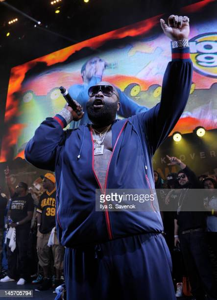 Rick Ross performs at HOT 97's Summer Jam 2012at MetLife Stadium on June 3 2012 in East Rutherford New Jersey