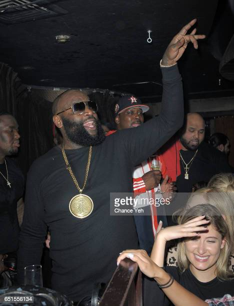 Rick Ross performs at Lavo on March 9 2017 in New York City