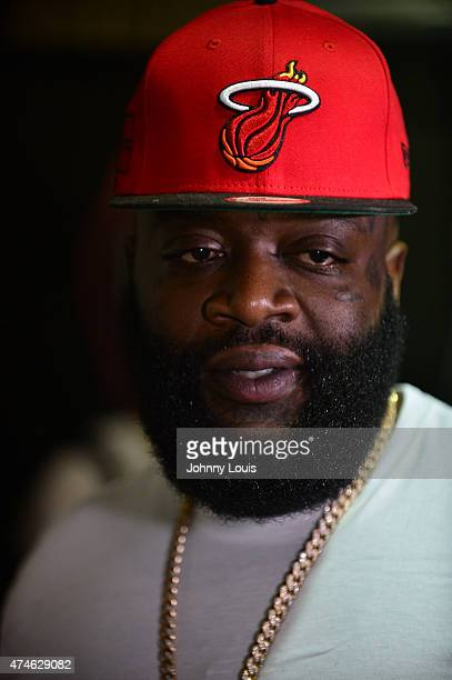Rick Ross performs during the 99 Jamz Summer Jamz Concert at BBT Center on May 23 2015 in Sunrise Florida