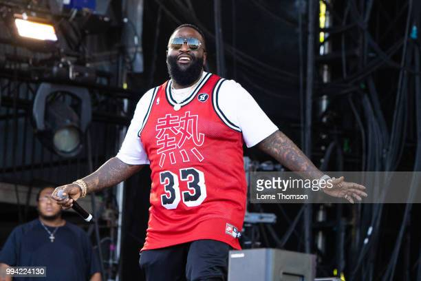 Rick Ross performs during Wireless Festival 2018 at Finsbury Park on July 8th 2018 in London England
