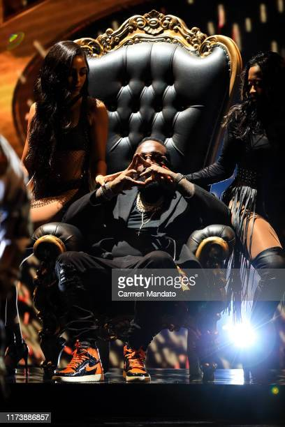 Rick Ross performs onstage at the BET Hip Hop Awards 2019 at Cobb Energy Center on October 5 2019 in Atlanta Georgia