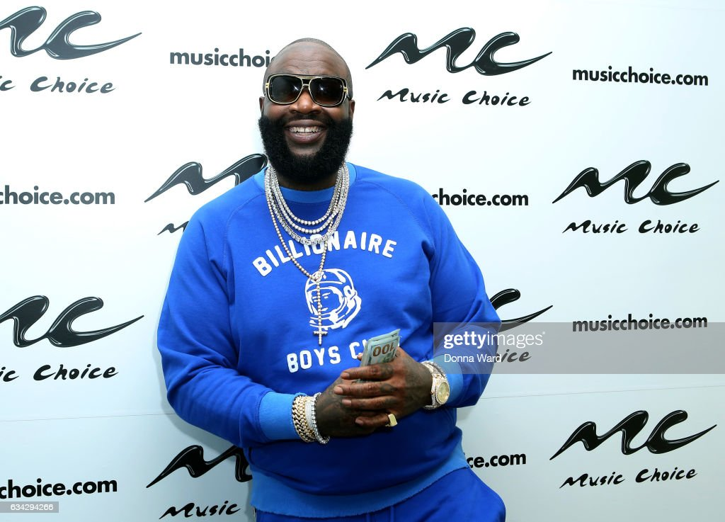 Rick Ross Visits Music Choice