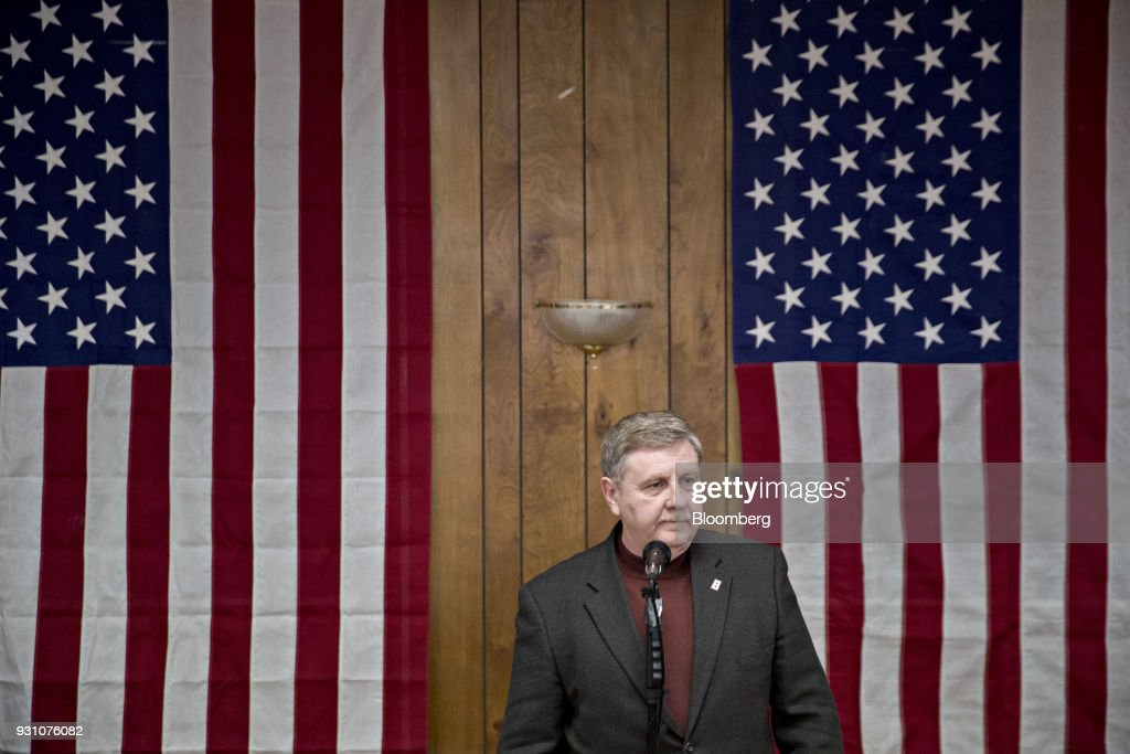 Republican Candidate For U.S. House Rick Saccone Campaigns With Donald Trump Jr.