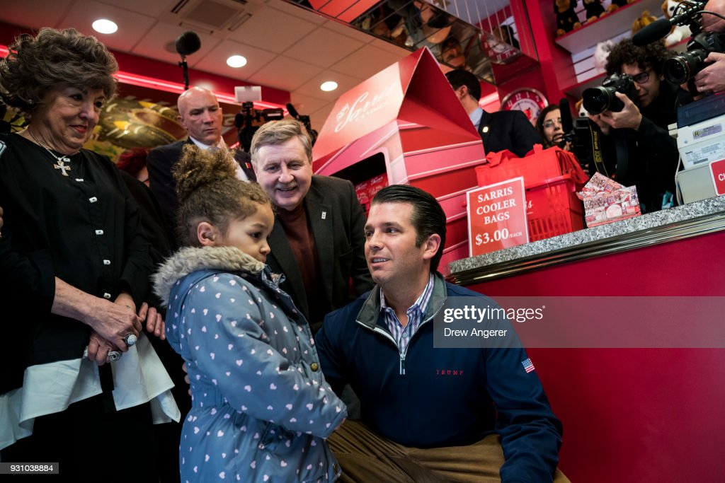 GOP Congressional Candidate Rick Saccone Campaigns With Donald Trump Jr In PA