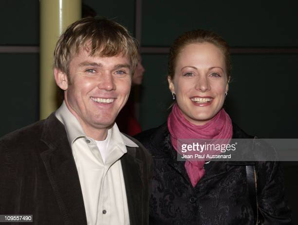 "Rick Schroder and Alison Eastwood during ""Poolhall Junkies"" Premiere In Memory of Rod Steiger to Benefit The Motion Picture & Television Fund at..."