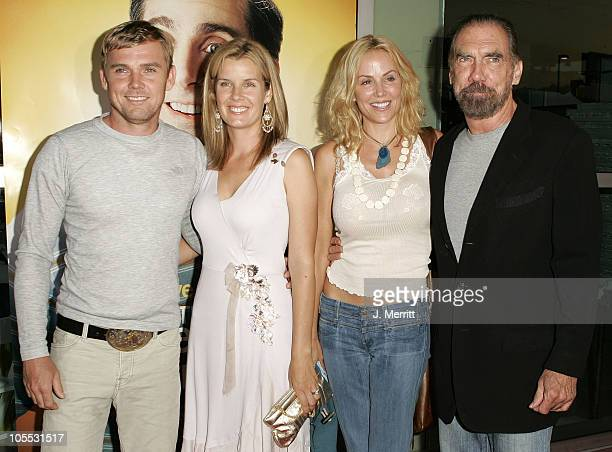 Rick Schroder his wife Andrea and John Paul DeJoria with his wife Eloise DeJoria