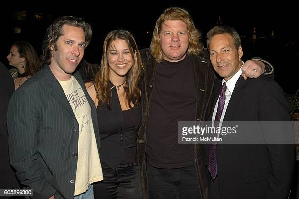 Rick Schwartz, Talia Osteen, Ric Wake and Henry Winterstern attend THE CINEMA SOCIETY presents the NY Premiere of First Look Pictures' THE...