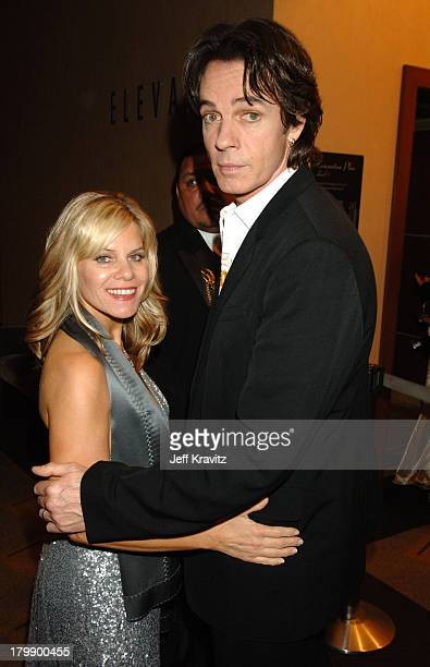 Rick Springfield and Barbara Porter during 33rd Annual Daytime Emmy Awards Backstage and Audience at Kodak Theater in Hollywood California United...