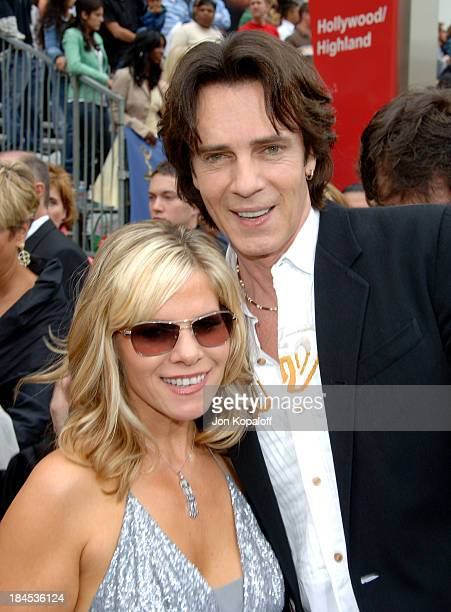 Rick Springfield and wife Barbara Porter during 33rd Annual Daytime Emmy Awards Arrivals at Kodak Theater in Hollywood California United States